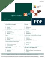 Evaluacion Hematologia curso CTO