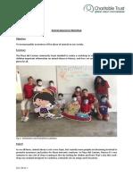 GVI Playa Del Carmen Monthly Achievement Report December 2016