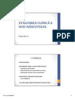 Curs 1 Neonatologie