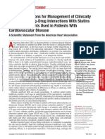 Statin Interactions