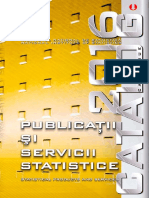 Publicatii statistice 2016