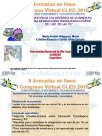 Presentación cled 2010 Promoción de los intereses de alumnos a partir del uso de las TIC