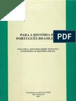 Para a História Do Português Brasileiro v