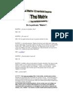 Salirse de La Matrix