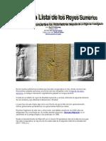 Lista de Los Reyes Sumerios