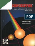 Presupuestos 2da Edicion Jorge Burbano Ruiz