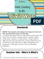 events leading to the civil war strand a