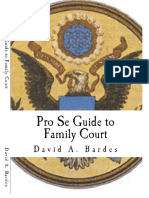 Free Pro Se Guide to Family Court