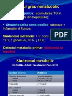 Boli metabolice + HCC gastro suub
