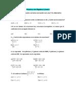 Practica I Sistema de Ecuaciones