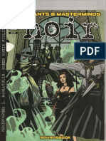 Mutants & Masterminds - Green Ronin Publishing - Noir (v2.0)