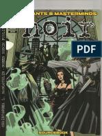 Mutants & Masterminds - Green Ronin Publishing - Noir (v2.0)
