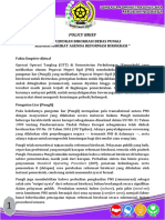 Policy Brief Pungli - 20 Oktober 2016