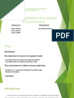 Grille d'Évaluation de La Qualité d'Un Processus Version Finale