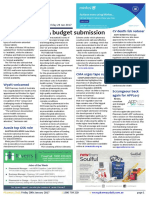 Pharmacy Daily for Fri 20 Jan 2017 - Budget submissions, metformin shortage, S8 backlog, Guild backs Health Care Homes, GSK