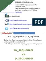 CVC m Sequencer vs p Sequencer
