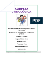 Carpeta Fonologica Diplomado Udep
