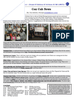 Cox News Volume 6 Issue 11