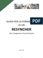 Guida Al Resynch Con VSS