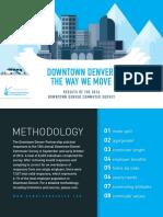2016 Downtown Denver Commuter Survey