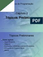 Aula 2 - Tópicos Preliminares