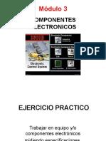 MODULO 3. Componentes Electrónicos