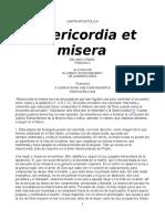 CARTA APOSTÓLICA Misericordia Et Miserie