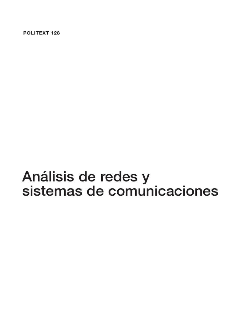 ebook] Edicions UPC - Analisis de Redes y Sistemas de Comunicaciones ...