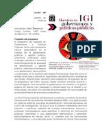 Maestría en Gobernanza y Políticas Públicas (1)