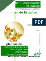 Manual de Planeacion Del Trabajo