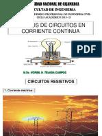 Corriente Continua y Circuitos Resistivos - 2016-II