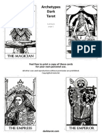 Printable Tarot