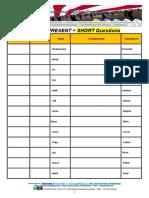 Verbs in Simple Present Qs
