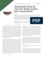 Desigualdad Social en Chile Entre La Realidad y Los Discursos Rodrigo Retamal 2014