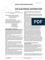 Accel Instructions Hei Electronic Distributor 59107 59107c