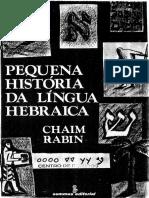 PEQUENA HISTÓRIA DA LÍNGUA HEBRAICA – Chaim Rabin.pdf