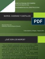 Muros Cadenas y Castillos_Coronel, Sánchez