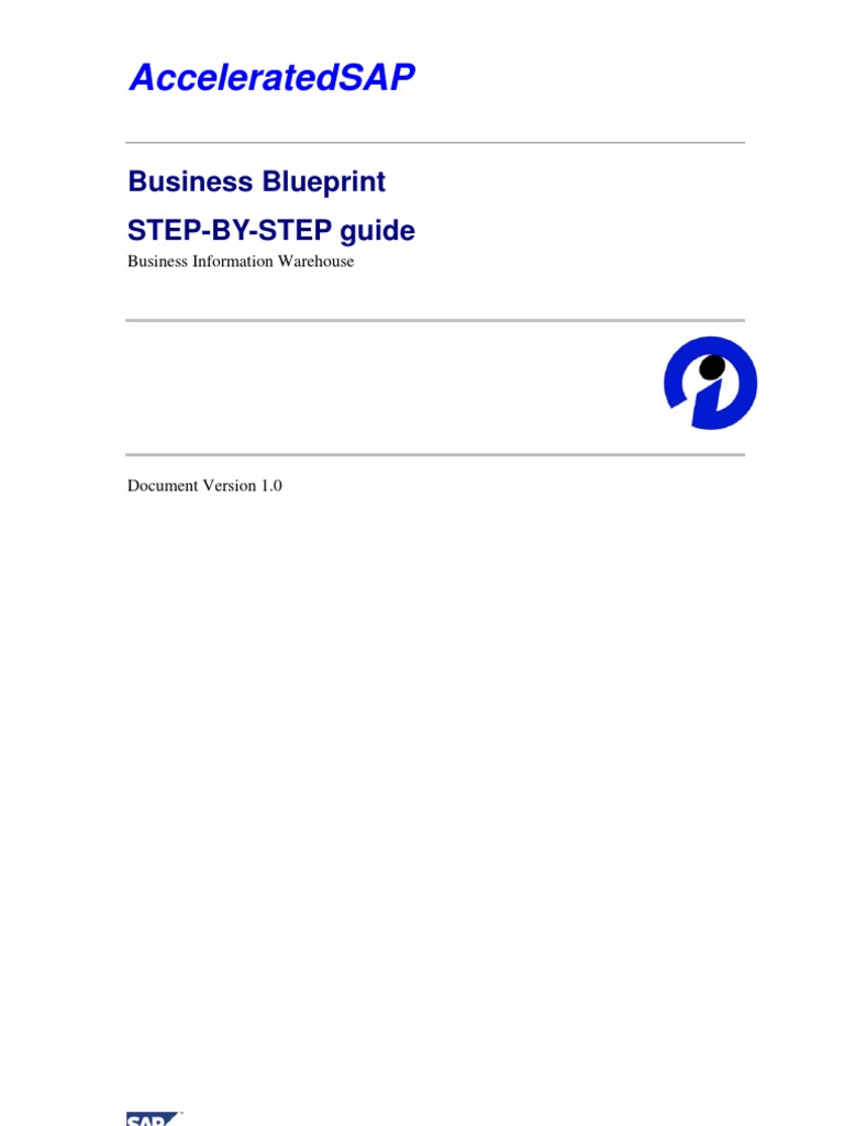 Business blueprint how to prepare metadata business process malvernweather Images