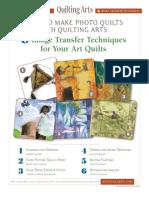 QA Image Transfer Techniques