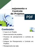 Adm.produção II - Fred Alvim PlanejamentoControleProjetos