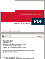 Joomla1.6Security-SamMoffat