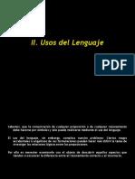 2. Los Usos Del Lenguaje