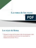 La roma de los reyes presentación Andrés
