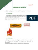 Física - Aula 14 - Transmissão de calor