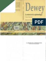 2. John Dewey La Miseria de La Epistemología Ensayos de Pragmatismo