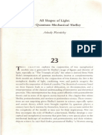 Arkady Plotnitsky, All Shapes of Light. the Quantum Mechanical Shelley, In Stuart Curran -Betty Bennett, eds., Shelley Poet and Legislator of the World, Johns Hopkins University Press, 1995.