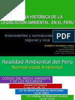Reseña Historica de La Legislacion Ambiental