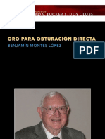 Oro, Phillips. Ciencia de los Materiales Dentales.