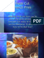 Dr. Potato Post on Fresh Cut Fries