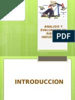 Analisis y Evaluacion de Riesgos Industriales